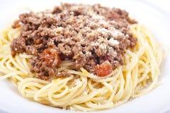 Spaghetti Bolognese Stock Afbeelding
