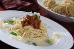 Spaghetti bolognese Royalty Free Stock Photo