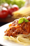 Spaghetti Bolognese. Royalty Free Stock Photography