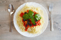 Spaghetti Bolognese Royalty Free Stock Photos
