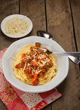 Spaghetti bolognese Royalty Free Stock Images