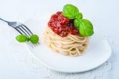 spaghetti bolognese Obrazy Stock