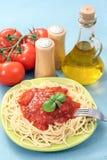 spaghetti bolognese zdjęcia royalty free