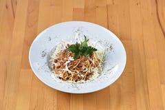 spaghetti bolognese Zdjęcie Royalty Free