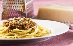 Spaghetti bolognese Stock Image