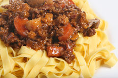 Spaghetti Bolognese or Bolognaise Royalty Free Stock Photography