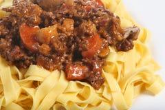 spaghetti Bolognese bolognaise Fotografia Royalty Free
