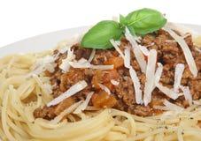 Spaghetti Bolognese or Bolognaise Stock Image