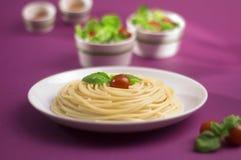 Spaghetti bolognese dall'Italia fotografia stock libera da diritti