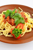 Spaghetti Bolognese 5 Royalty Free Stock Photo