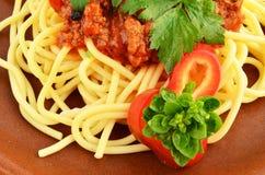 Spaghetti Bolognese 6 Stock Images