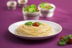 Spaghetti bolognese from Italy Royalty Free Stock Photography