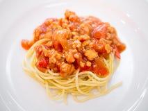Spaghetti bolognese Royalty Free Stock Image