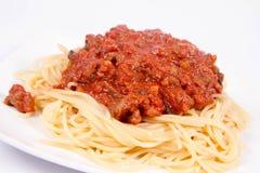 Spaghetti bolognese Stock Photography