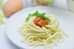 Spaghetti bolognese Stock Photos
