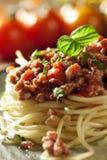 Spaghetti Bolonais Images stock