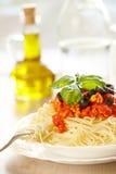 Spaghetti Bolonais Photographie stock
