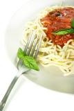 Spaghetti Bolonais Photo stock
