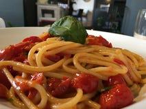 Spaghetti Bolonais Photo libre de droits