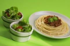 Spaghetti Bolonais d'Italie Photos stock