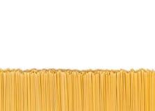 Spaghetti Bottom Border Royalty Free Stock Photo