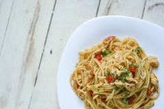 Spaghetti Carbonara Stock Fotografie