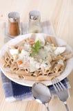 Spaghetti carbonara pasta Royalty Free Stock Images