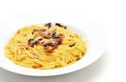 Spaghetti Carbonara Stock Photos