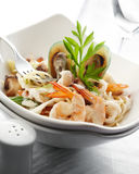 Spaghetti carbornara Stock Photo