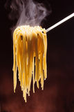 Spaghetti chauds Photos libres de droits