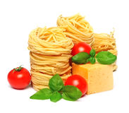 Spaghetti with cheese Royalty Free Stock Photos