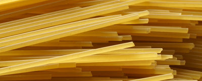 Spaghetti close up - banner / header edition. Pasta  close up - banner / header edition Royalty Free Stock Photo