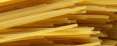 Spaghetti close up - banner / header edition Royalty Free Stock Photo