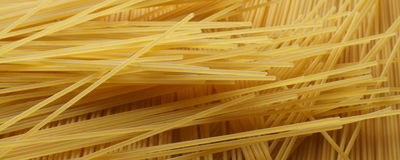 Spaghetti close up - banner / header edition. Pasta  close up - banner / header edition Royalty Free Stock Photos