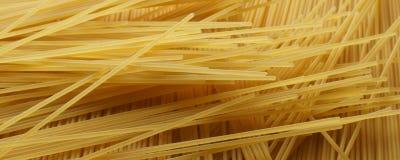 Spaghetti close up - banner / header edition Royalty Free Stock Photos
