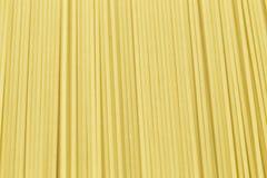 Spaghetti crudi della pasta Immagini Stock Libere da Diritti