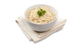 Spaghetti cucinati Fotografie Stock Libere da Diritti