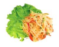 Spaghetti d'isolement Photos stock