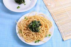 spaghetti de pâtes Photos stock