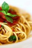 Spaghetti. Delicious Asia style in Thailand Stock Photos