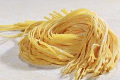 Spaghetti di Tagliatelle della pasta Fotografie Stock Libere da Diritti