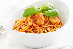 Spaghetti diablo Royalty Free Stock Photography