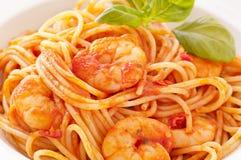 Spaghetti diablo Stock Image