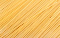 Spaghetti diagonalmente Fotografie Stock