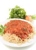 Spaghetti dinner Royalty Free Stock Image