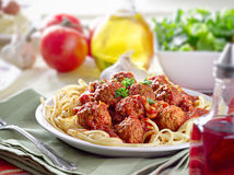 Spaghetti dinner Royalty Free Stock Photography