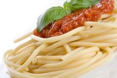 Spaghetti dinner royalty free stock photo