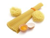 Spaghetti ed uova 2 Fotografia Stock Libera da Diritti