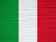 Spaghetti Flag Royalty Free Stock Image