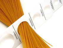 Spaghetti Gauge Stock Image